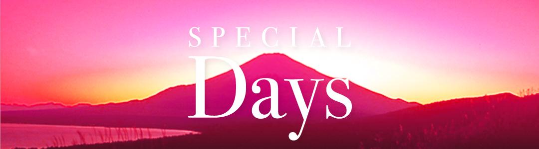 SPECIAL DAYS/スペシャルデイズ